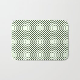 Treetop Polka Dots Bath Mat