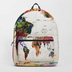 map Backpacks