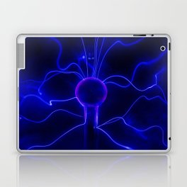 Blue Lightnings Laptop & iPad Skin