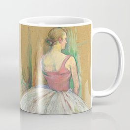 """Henri de Toulouse-Lautrec """"Danseuse en pied. Vue de dos (Standing dancer. Back vue)"""" Coffee Mug"""