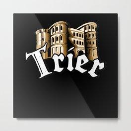 Trier City Porta Nigra Moselle Home Metal Print