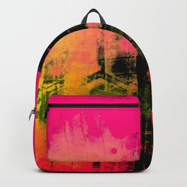 In a Pink and Black Mood Backpack
