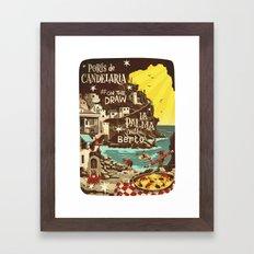Porís de Candelaria #onthedraw in La Palma Framed Art Print