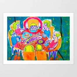 only me Art Print