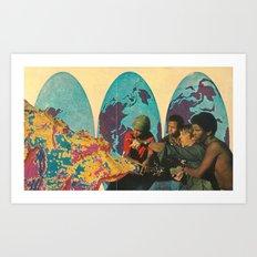 spread it all around Art Print