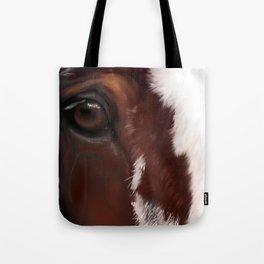 Draft war horse Tote Bag