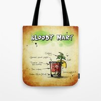 cocktail Tote Bags featuring Cocktail by WonderfulDreamPicture
