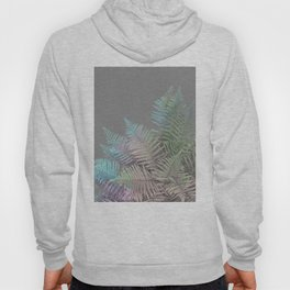 Rainbow Fern on Grey #decor #buyart #foliage Hoody