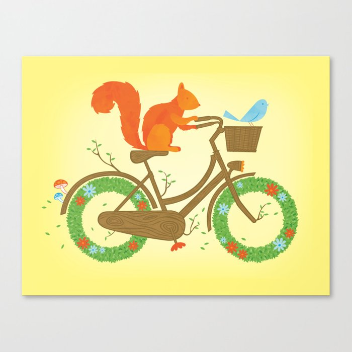 Natural Cycles Canvas Print