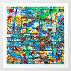 Vargamari (Goldberg Variations #11) Art Print