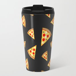 Cool and fun pizza slices pattern Travel Mug