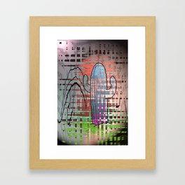"'Cacti am a Winner"" Framed Art Print"