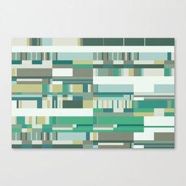 Debussy Little Shepherd (Greens) Canvas Print
