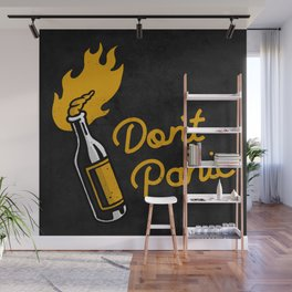 Don't Panic - Molotov (Dark) Wall Mural