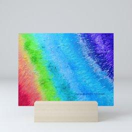 """Sign Painter Palette"" Oil Painting Mini Art Print"