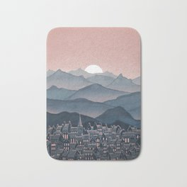 Seek - Sunset Mountains Bath Mat