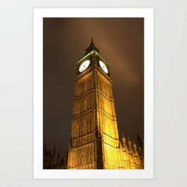 The biggest Ben of them all Art Print