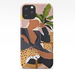Girl Boss #illustration #painting iPhone Case