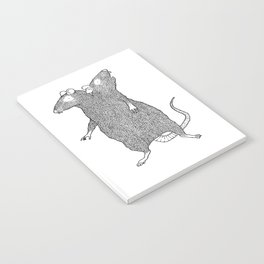 Two Headed Rat, I Love You Notebook