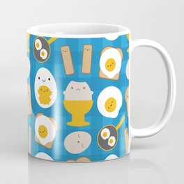Kawaii Eggs For Breakfast Coffee Mug