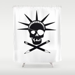 Pirates of Brooklyn Shower Curtain