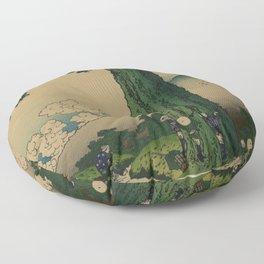 Hokusai Floor Pillow