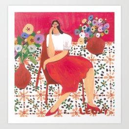 Sandra Weil Art Print