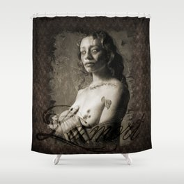 La Mort  Shower Curtain