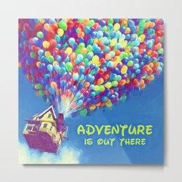 Up Balloons Metal Print