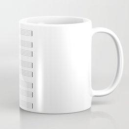 Musical Staff and Staves Coffee Mug