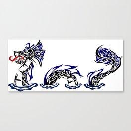 Lock Ness Monster Canvas Print