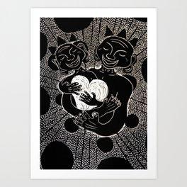 The Power of Love. Art Print