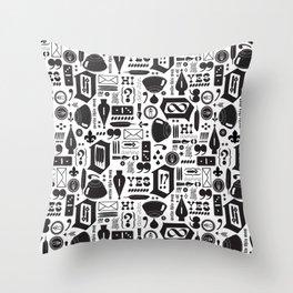 Write This Way Pattern Throw Pillow
