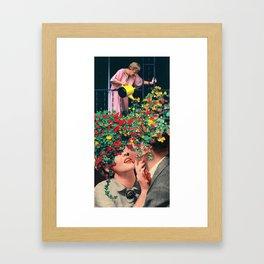 Growing Love Framed Art Print
