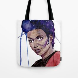Lieutenant Uhura Tote Bag