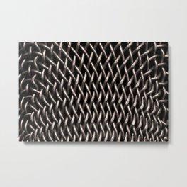 Texture - Microphone Metal Print