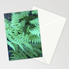 Midnight Ferns Stationery Cards