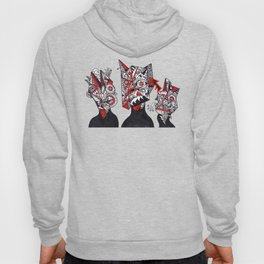 THE THREE CUBIST STOOGES Hoody