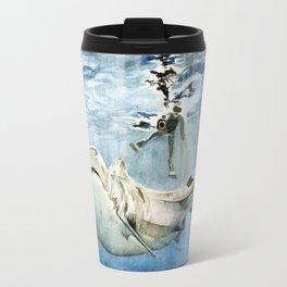 Shark & Man Travel Mug