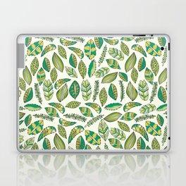 Tropical Jungle Leaves Laptop & iPad Skin