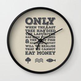 The Last River Wall Clock