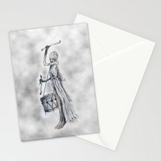 Drumming Death Stationery Cards