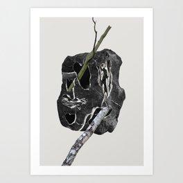 Trees Rocks pt. 1 Art Print
