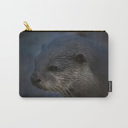 Small Clawed Otter Carry-All Pouch