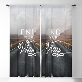 Find Your Way Blackout Curtain
