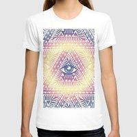 illuminati T-shirts featuring Native Illuminati by Uprise Art & Design