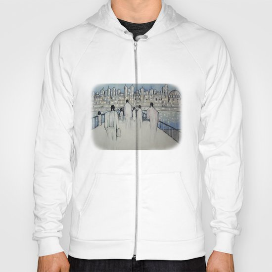 foot traffic 02 Hoody