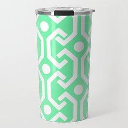Ethnic Pattern (Mint) Travel Mug