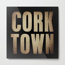CORK TOWN  Metal Print