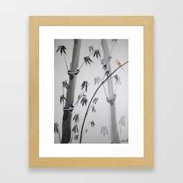 Chinese painting 4 Framed Art Print